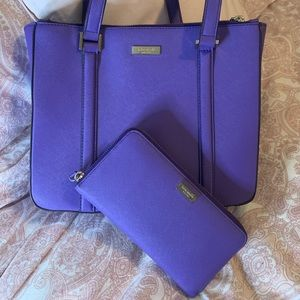 Kate Spade Purse w/matching Wallet